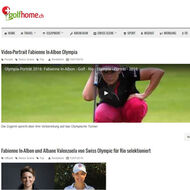 Golf Home (CH) <br> ONOFF Werbebanner <br> Medienspiegel Caligari Golf AG