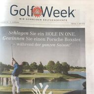 Golf Week, Mai Ausgabe 2018, Medienspiegel Caligari Golf AG