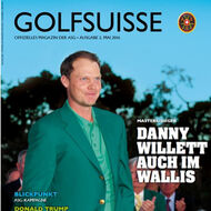 Golf Suisse (CH), Ausgabe Mai 2016, Medienspiegel Caligari Golf AG