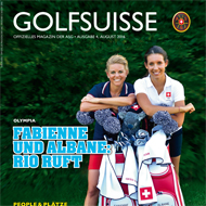 Golf Suisse (CH), Ausgabe August 2016, Medienspiegel Caligari Golf AG