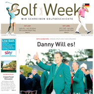 Golf Week, Ausgabe 15. April 2016, Medienspiegel Caligari Golf AG