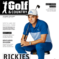 Golf and Country 2016, Ausgabe April 2016, Medienspiegel Caligari Golf AG