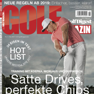 Golf Magazin (DE), Ausgabe Mai 2017, Medienspiegel Caligari Golf