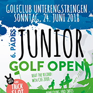 Pädes Junior Golf Open mit Volvik Golf Trick shot
